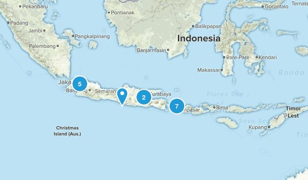 Indonesia Walking Map