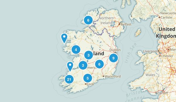 Ireland Birding Map