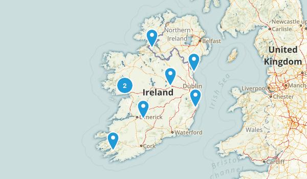 Ireland Dog Friendly Map