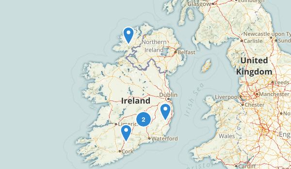 Ireland No Dogs Map