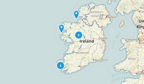 Ireland Historic Site Map