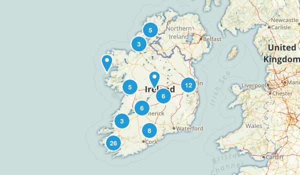 Ireland Nature Trips Map