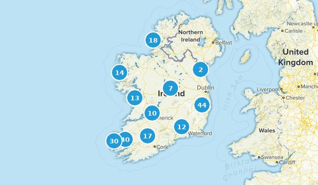 Ireland Views Map