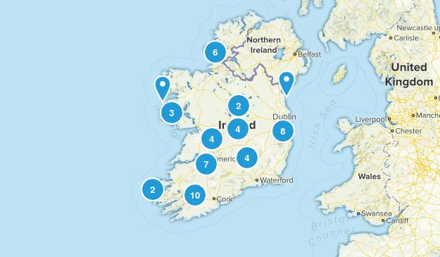 Ireland Wildlife Map