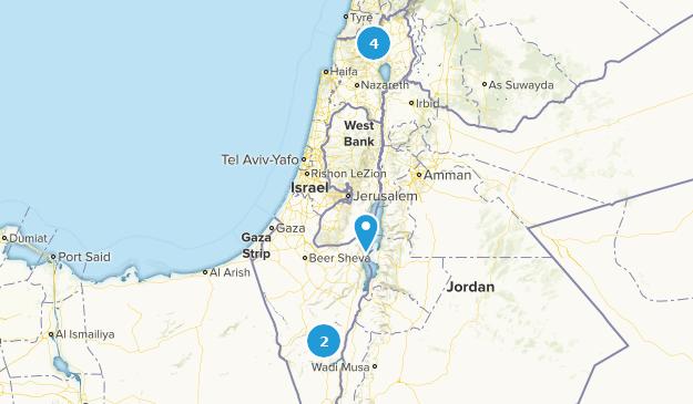 Israel River Map