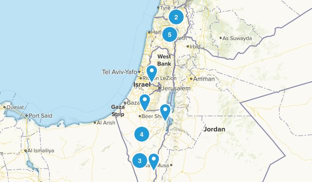 Israel Wildlife Map