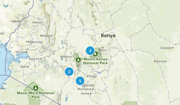 Mount Kenia Karte.Die Besten Naturparks In Kenia Alltrails