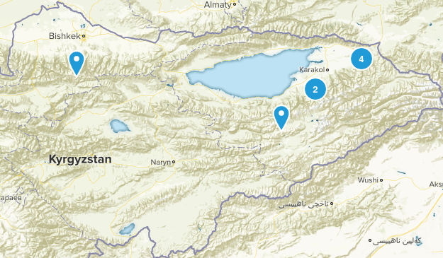 Kyrgyzstan Forest Map