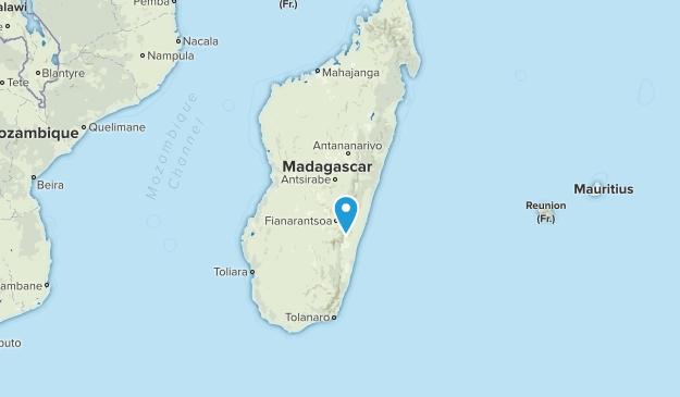 Madagascar Parks Map