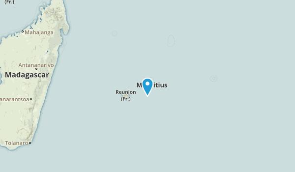 Mauritius Parks Map