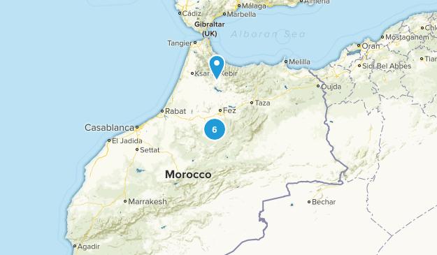 Morocco Birding Map