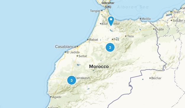 Morocco Views Map