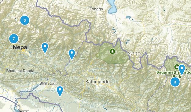 Nepal Parks Map