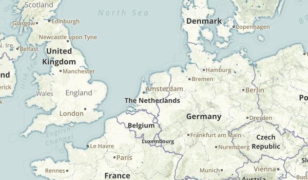 Netherlands National Parks Map