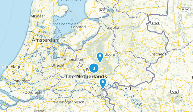 Netherlands National Parks Map