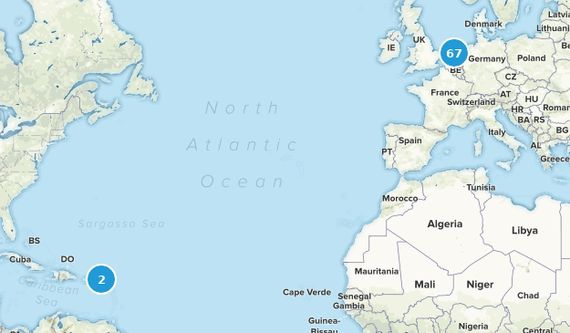 Netherlands Nature Trips Map