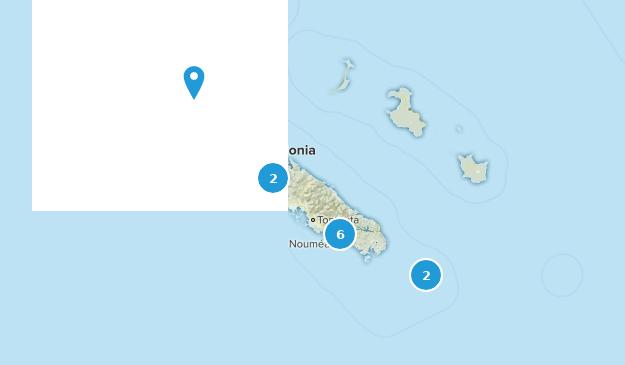 New Caledonia Views Map