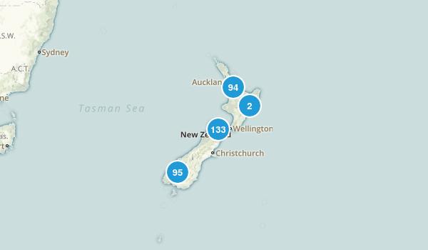 New Zealand Birding Map