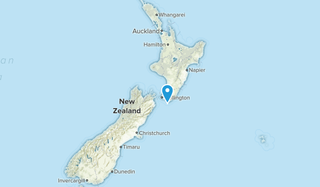 New Zealand Local Parks Map
