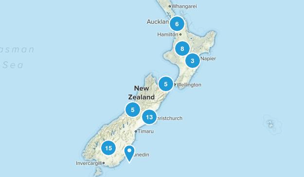 New Zealand Mountain Biking Map