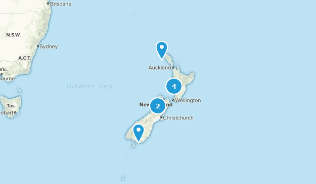 New Zealand Road Map.Best Off Road Driving Trails In New Zealand Alltrails