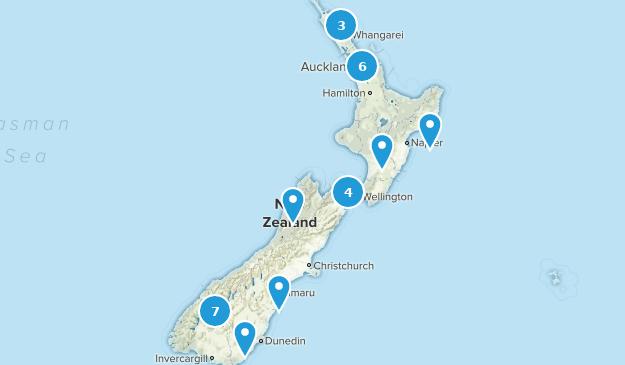 New Zealand Road Map.Best Road Biking Trails In New Zealand Alltrails