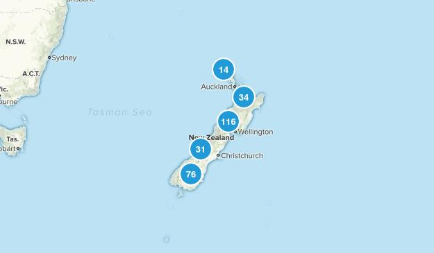 New Zealand Wildlife Map