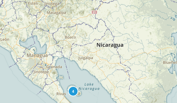 Best parks in nicaragua alltrails nicaragua parks map gumiabroncs Gallery