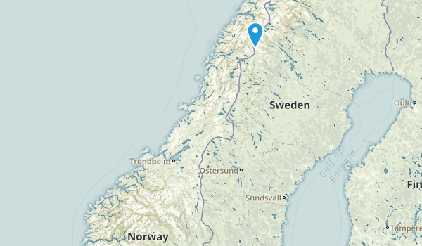 Norway Parks Map