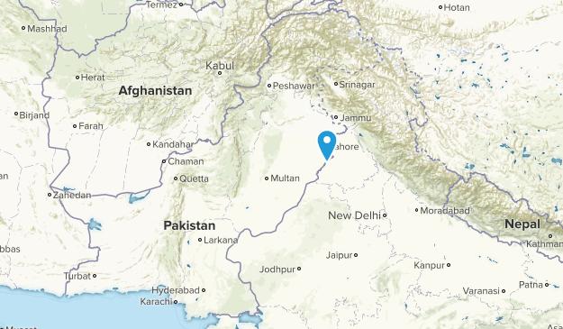 Pakistan Local Parks Map