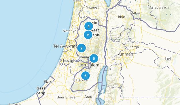 Palestine Historic Site Map