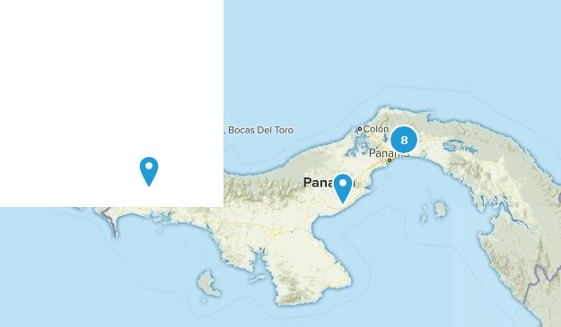 Panama Nature Trips Map