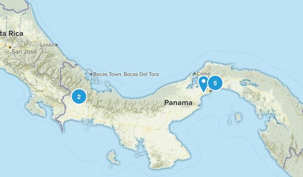 Panama Walking Map