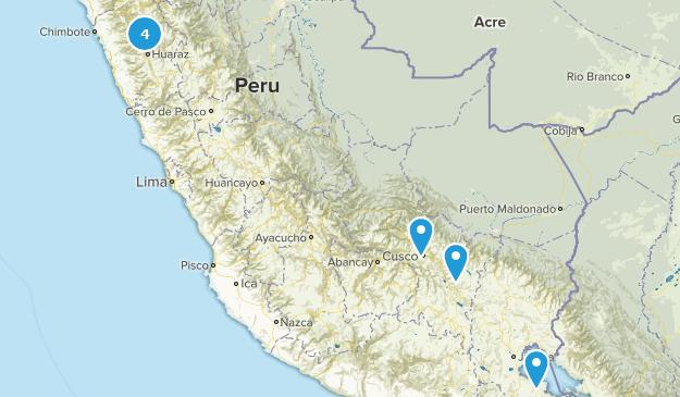 Peru Lake Map