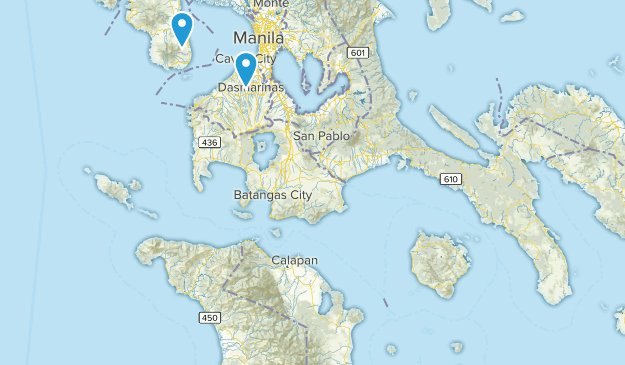 Philippines Parks Map