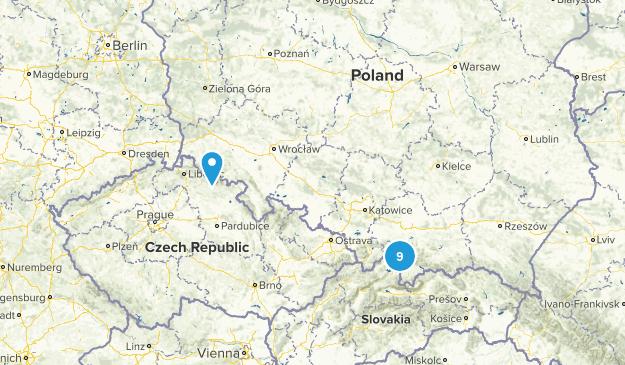 Poland Hiking Map