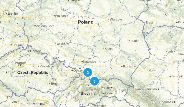 Poland Parks Map