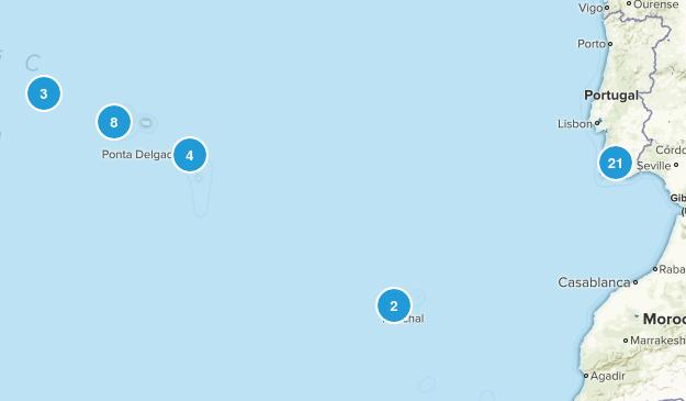 Portugal Beach Map