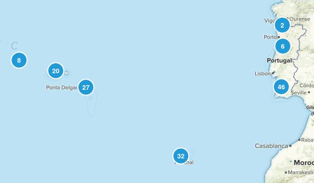 Portugal Walking Map