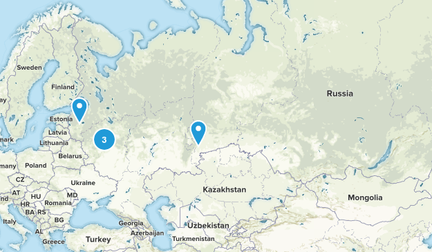 Russia Nature Trips Map