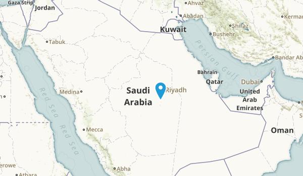 Saudi Arabia Parks Map