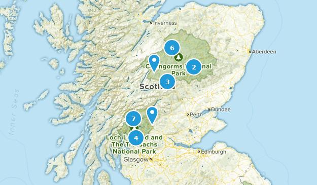 Scotland National Parks Map