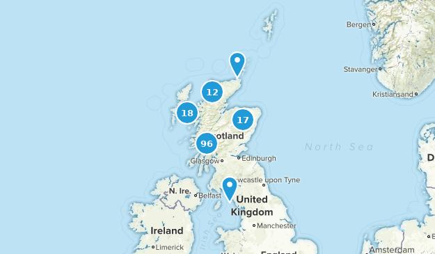 Scotland Nature Trips Map