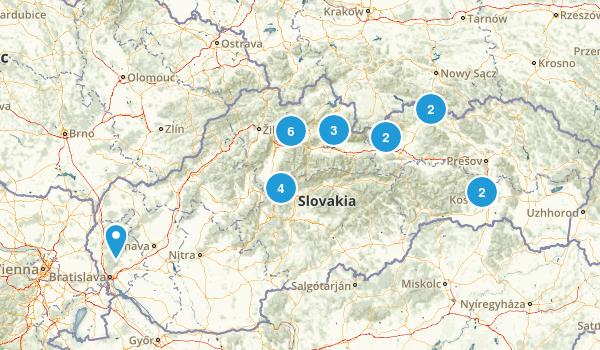 Slovakia Views Map