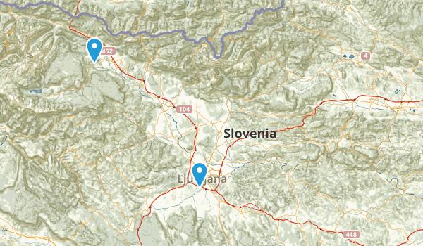 Slovenia Parks Map