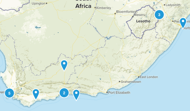 South Africa Kid Friendly Map