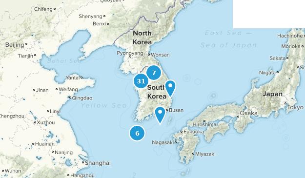 Osan South Korea Map.Best Hiking Trails In South Korea Alltrails