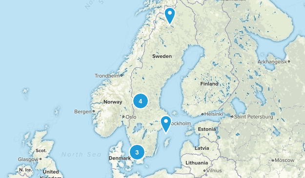 Sweden Dog Friendly Map