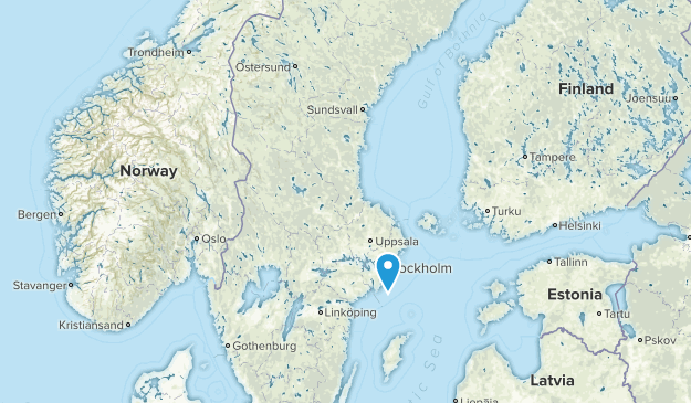 Sweden National Parks Map