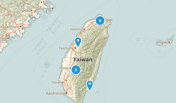 Taiwan Birding Map